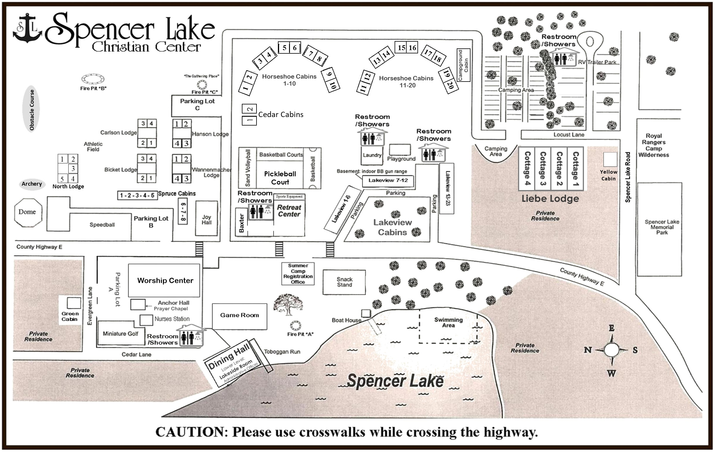 _ SL Map of thee Grounds
